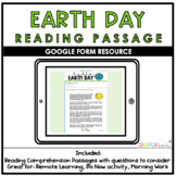 Earth Day Google Form