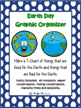 Earth Day Graphic Organizer