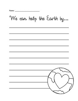 Earth Day - Graphic Organizers