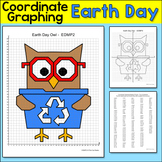 Earth Day Math Coordinate Graphing Ordered Pairs Mystery P