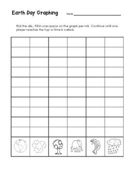 Earth Day Graphing Game