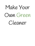 Earth Day: Green Cleaner