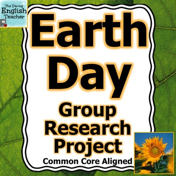 Earth Day Group Research Project