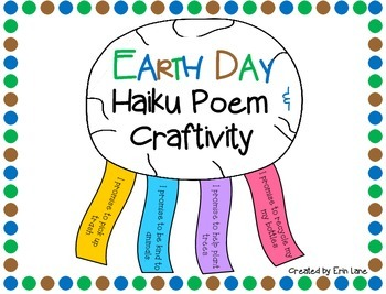 Earth Day Haiku Poem and Craftivity FREEBIE!