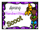#presidentsdaydeals Spring Themed Handwriting Scoot