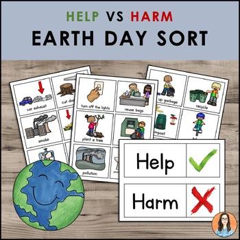 Earth Day - Harm vs Help Sort