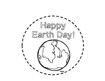 Earth Day Hat Craft Craftivity