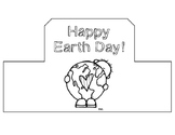 Earth Day Hat for Students: Hat Template