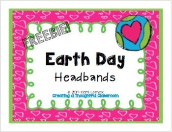 Earth Day Headband FREEBIE