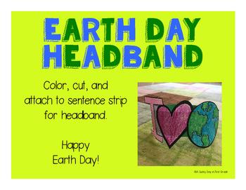 Earth Day Headband {freebie!}