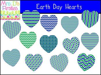 Earth Day Hearts