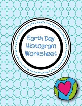 Earth Day Histogram Worksheet