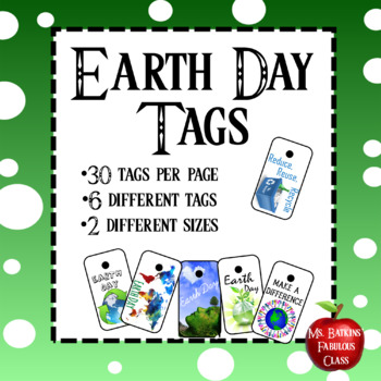 Earth Day Holiday Brag Tags