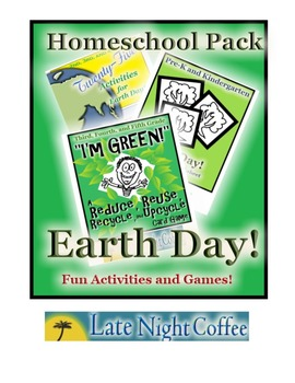 Earth Day Homeschool Pack: Games and Activities for Multi-grades