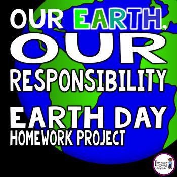 Earth Day  {Homework Project}  FREEBIE!