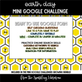 Earth Day Honey Bee Mini Google Challenge - Great for Dist