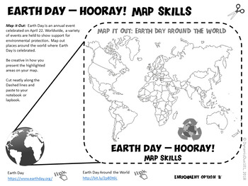 Earth Day - Hooray! Interactive Notebook Reading Activities {Earth Day, CCSS}
