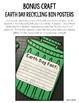 "Earth Day Activity ""How-To"" Book Writing Craft No PREP"