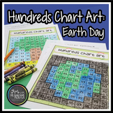 Hundreds Chart Art: Earth Day (Mystery Picture)
