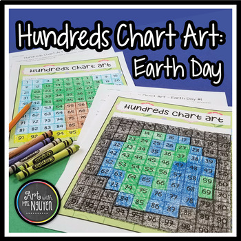 Earth Day Hundreds Chart Art (Mystery Picture)
