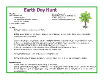 Earth Day Hunt (Basic): A Game to Celebrate Earth Day