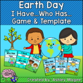 Earth Day I Have, Who Has Ready-to-Print Game and Editable