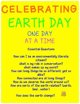 Earth Day Ideas for the Month of April