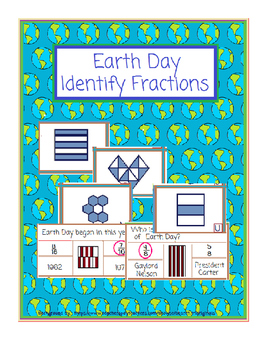 Earth Day-Identifying Fractions