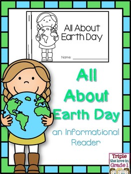 Earth Day Informational Reader