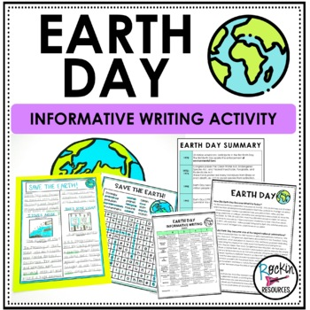 Earth Day Informative Writing