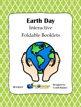 Earth Day Interactive Foldable Booklet - EBOOK