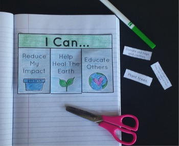 Earth Day Interactive Notebook Activities