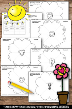 Foldable Earth Day Craft, Science Interactive Notebook, Reduce Reuse Recyle