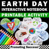 Earth Day Craft, Reduce Reuse Recyle, Environmental Science Interactive Notebook