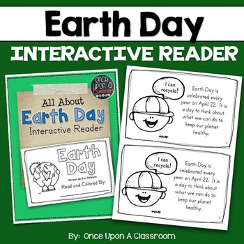 Earth Day - Interactive Reader