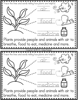 Earth Day Activity - Interactive Reader