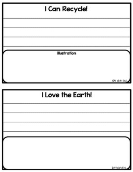 Love My Earth: It Starts With Me! Grade 2-5 Science Sort and Interactive Book