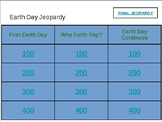 Earth Day Jeopardy Game