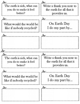 Earth Day Journal Prompt