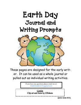 Earth Day Journal/Writing Prompts
