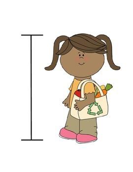 Earth Day Kid Measuring
