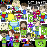 Earth Day Kids Clipart {Scrappin Doodles Clip Art}