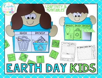 Earth Day Kids {Craftivity & Printables}