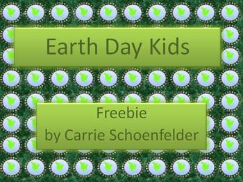 Earth Day Kids Freebie