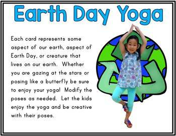 Earth Day Kids Yoga