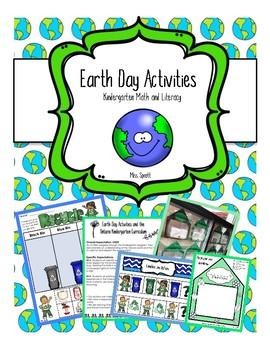 Earth Day Kindergarten Activity Package