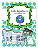 Earth Day Kindergarten Activity Package