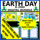 Earth Day - Kindergarten - Digital and Printable Activities
