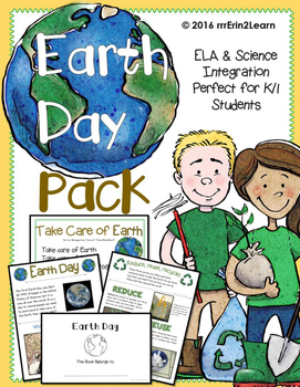 Earth Day Kindergarten First Grade