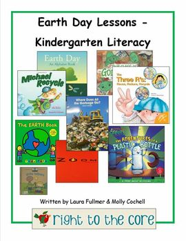 Earth Day - Kindergarten Literacy Activities
